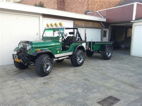 1974 Cj5 Jeep Jeep Cj5 1974 M413 Trailer Jeep Cj