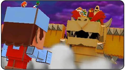Paper Mario Papercraft - mario luigi paper jam papercraft battle ring