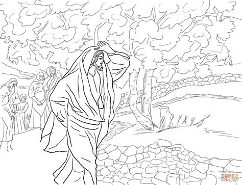 coloring page of a fig tree jesus curses the fig tree coloring page free printable