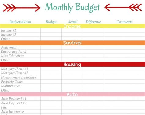 home management binder monthly budget diy home sweet diy home sweet home home management binder monthly budget