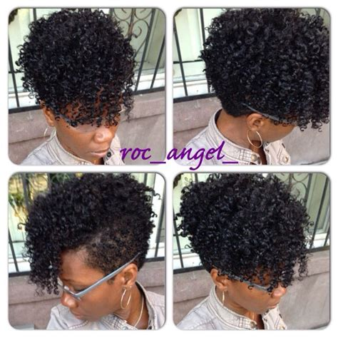 tapered curly weave style tapered fro roc angel black hair information community