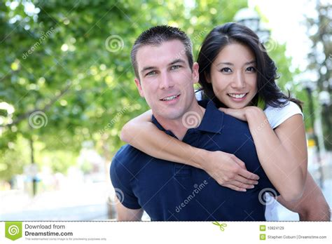 Couples Finding Couples Attractive In Royalty Free Stock