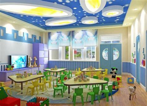 preschool decorating themes modern ideas for kindergarten interior room decorating