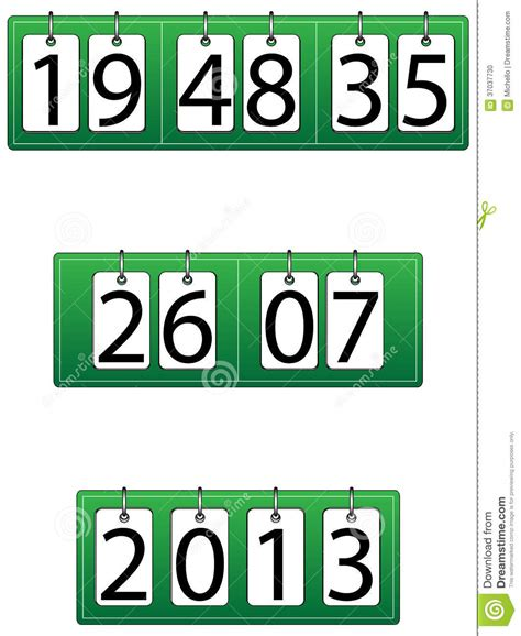 Calendar Time And Date Time Date And Year Function Clock Calendar Stock Photo