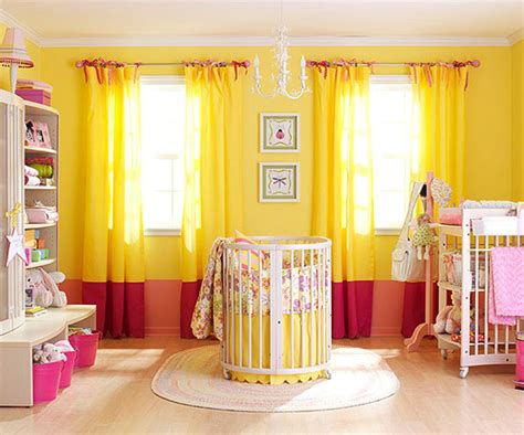yellow baby bedroom somewhere over the rainbow nurseries in every color huffpost