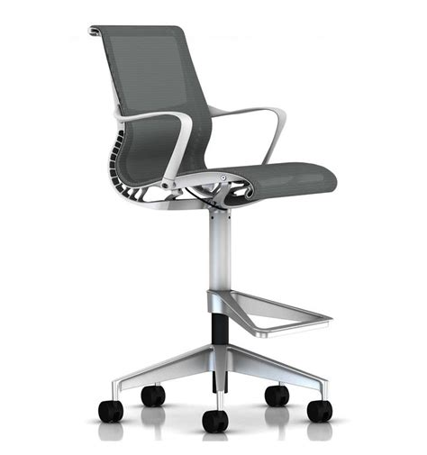 Herman Miller Counter Stools by Herman Miller Setu Stool White Office Chairs Uk