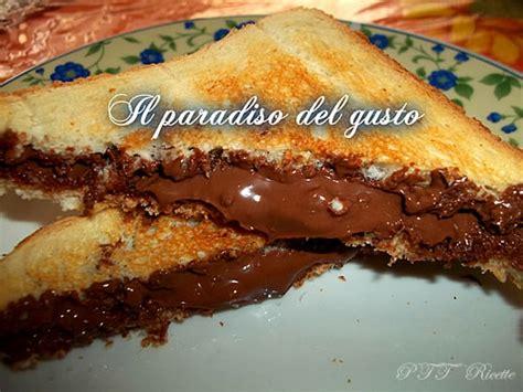 tostapane nutella toast alla nutella ptt ricette