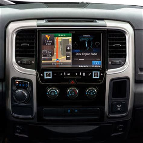 alpine  ram  ram truck  dash dvd car stereo receiver