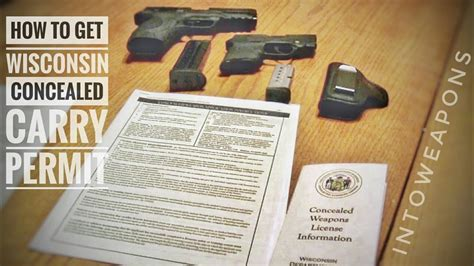 wisconsin concealed carry weapon permit process wi ccw