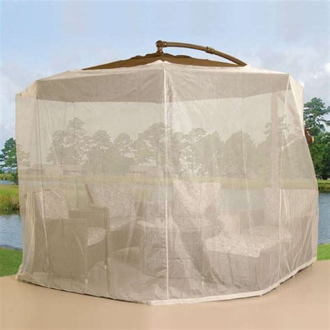 Patio Umbrella Mosquito Net Patio Netting Newsonair Org