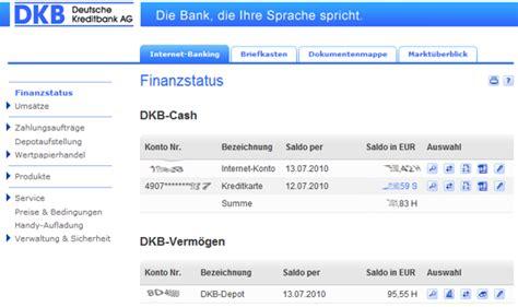 dkb bank dkb p konto 183 infos