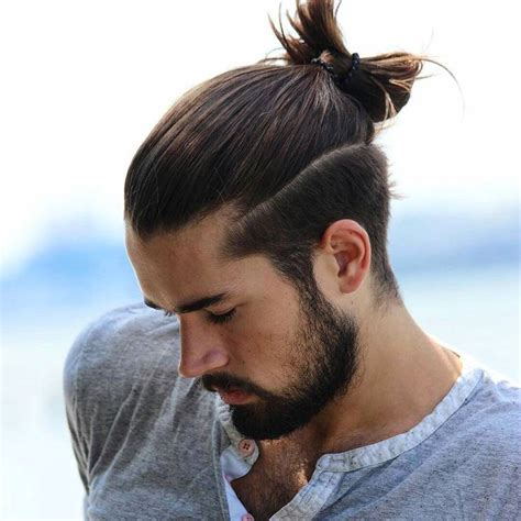 Best 25  Man bun undercut ideas on Pinterest   Man bun