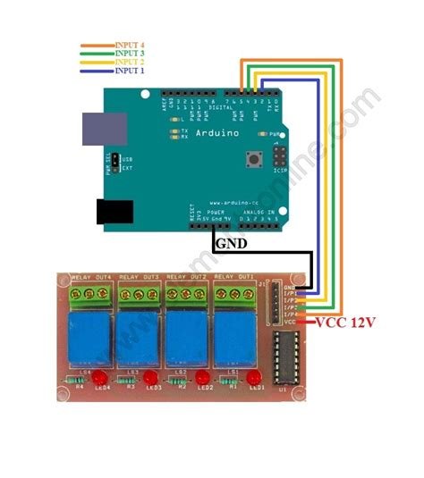 tutorial arduino relay interfacing relay boards to arduino random codes