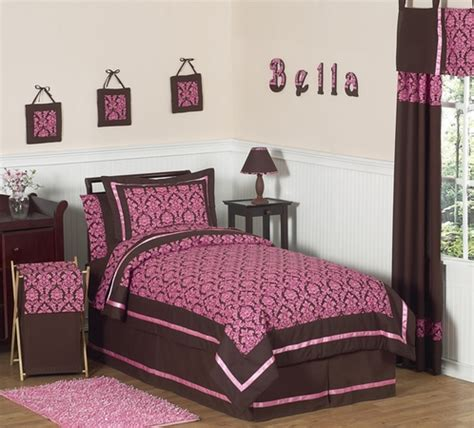 pink and brown bedding pink and brown bella children s teen bedding 3 pc full