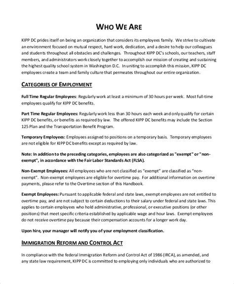 Employee Handbook Sle Sle Employee Handbook Pages Weitzman Employee Handbooks Every Word Colorado Employee Handbook Template