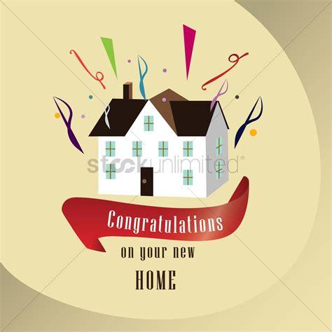 congratulations    home vector image