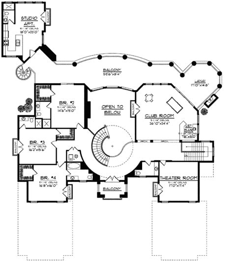 luxury apartment plans luxury design with detached studio apartment 89711ah