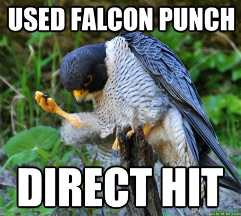 Falcon Punch Meme - used falcon punch direct hit success falcon quickmeme