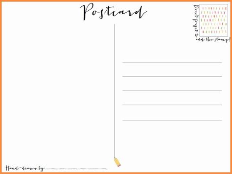 free templates for postcards blank postcard template resume exles