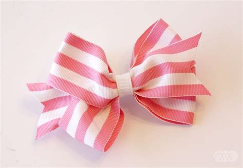 direction make hair bows how to make a basic boutique hair bow the ribbon retreat