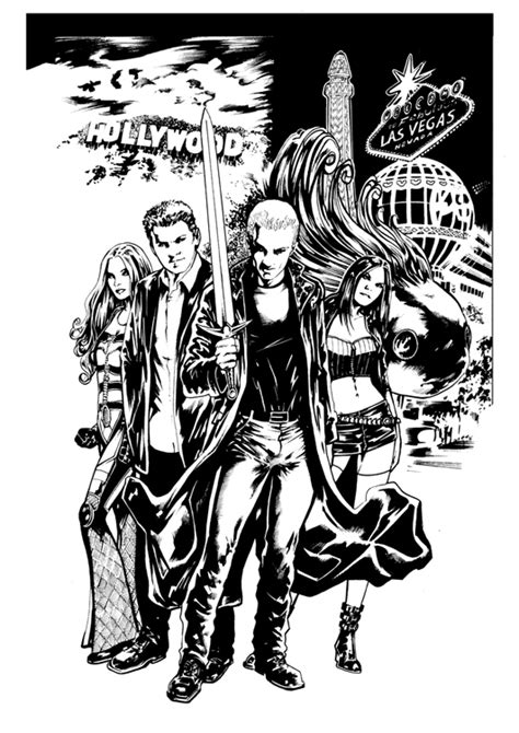 Buffy The Vire Slayer Coloring Pages Vegas Baby James Marsters Spike Ongoing Comic Series by Buffy The Vire Slayer Coloring Pages