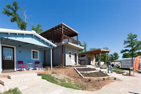 tiny house rental community tiny houses in austin are helping the homeless but it