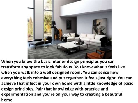 basic interior design principles basic interior design principles home decoration