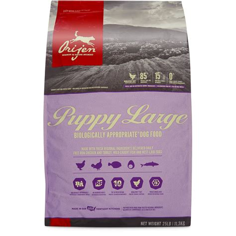 orijen puppy large orijen grain free puppy large breed food petco