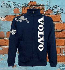 volvo giacchino sweat jacket logo vertical tuning truck tir camion holland style ebay