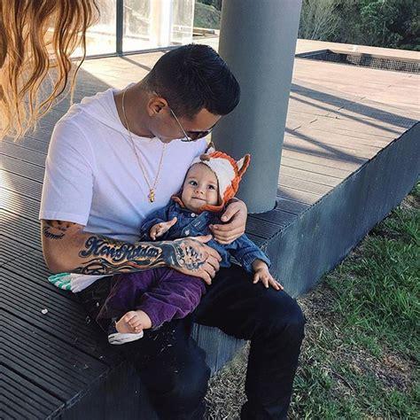 imagenes de kevin roldan y su familia kevin rold 225 n es un orgulloso padre soltero zeleb com co