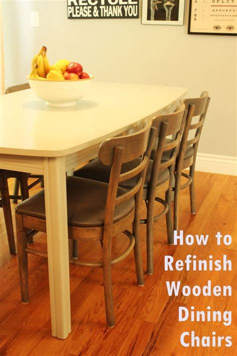 Refinish Dining Chairs How To Tips And Advice
