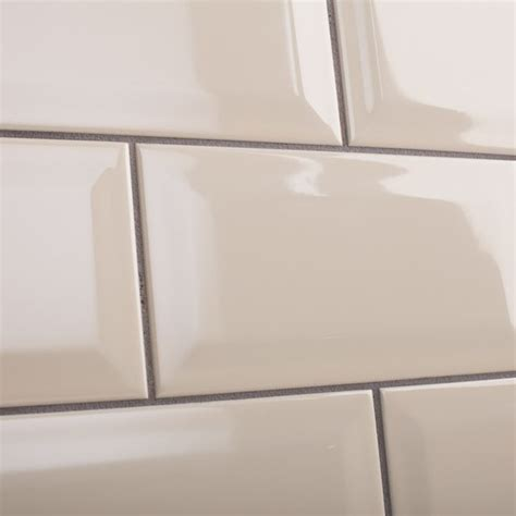 bevel brick white is a white gloss bevel edge wall tile by johnson tiles intro collection bevel brick