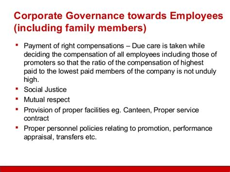 better corporate governance corporate governance practices in family managed companies