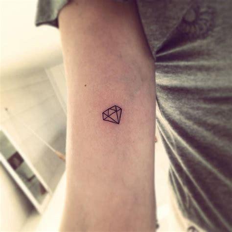 65 tatuagens de diamante bel 237 ssimas e inspiradoras