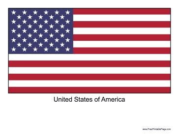 printable us flag flag of united states