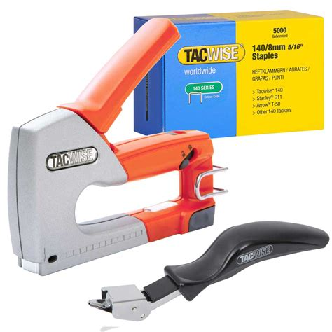 what kind of staple gun for upholstery tacwise hand stapler tacker gun 5200 staples remover