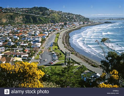 buy house christchurch sumner from whitewash head christchurch new zealand stock photo royalty free image