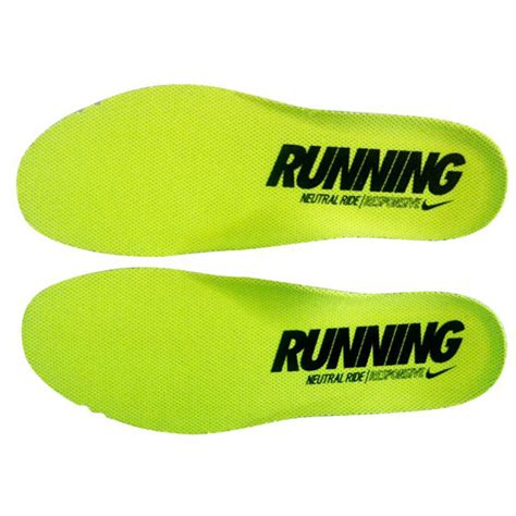 Nike Fitsole Original Insoles Imported Product nike fitsole ortholite insole inserts light green