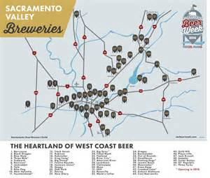 breweries map breweries sacramento week 2016