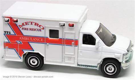 Matchbox 2009 Ford E 350 Ambulance ford vans