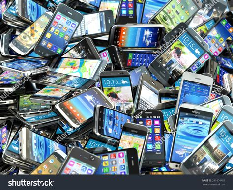 Image Search Mobile Phone Mobile Phones Background Pile Of Different Modern Smartphones 3d Stock Photo
