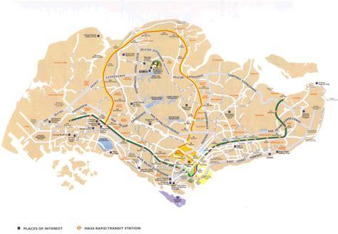 map of singapore singapore maps thesingapore