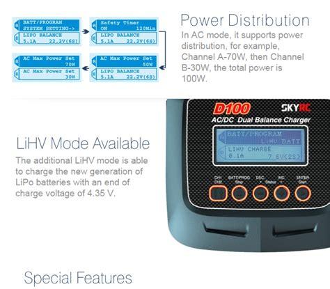 lade a led 100w g 252 nstig kaufen skyrc d100 ac dc dual balance ladeger 228 t