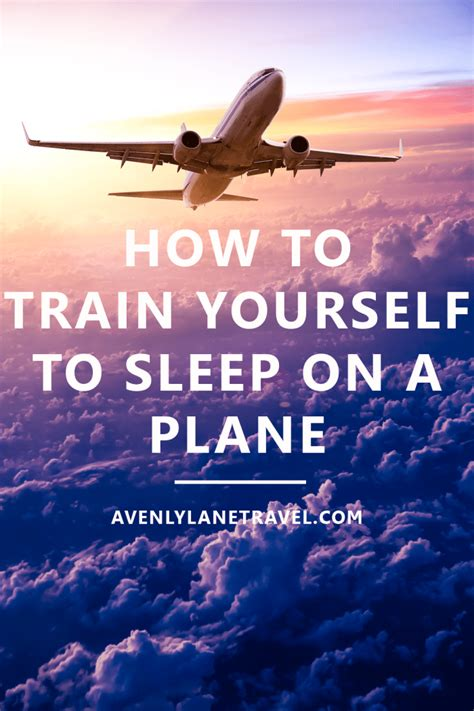 you can sleep on how to yourself to sleep on a plane