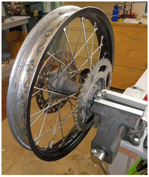 diy wheel truing diy moto fix website for fixing rebuilding repairing