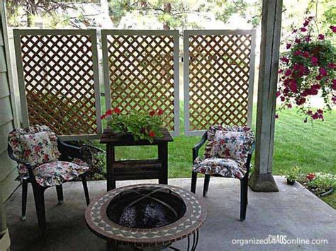 Privacy Screens For Backyards by 25 Best Ideas About Porch Privacy On Privacy
