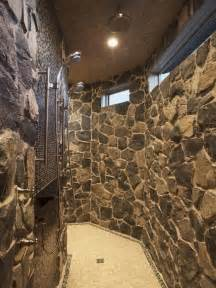 Bathroom Rock Tile Ideas Showers Houzz