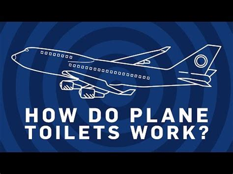 how do airplane bathrooms work plane toilet videolike
