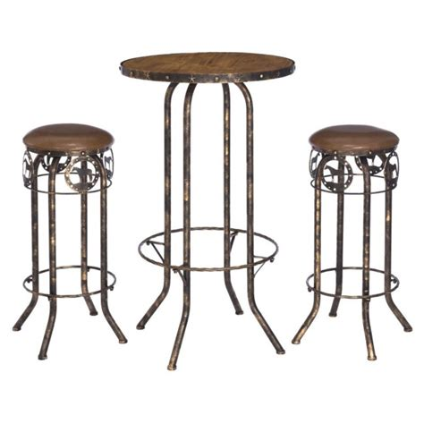 Bar Table And Stool Set by 3 Pub Table And Stool Set