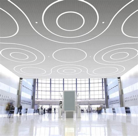 linear recessed led ceiling light fixture in modular